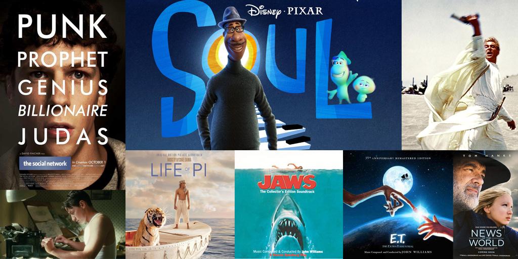 Filmmuziekpodcast; De mooiste Oscarwinnende soundtracks